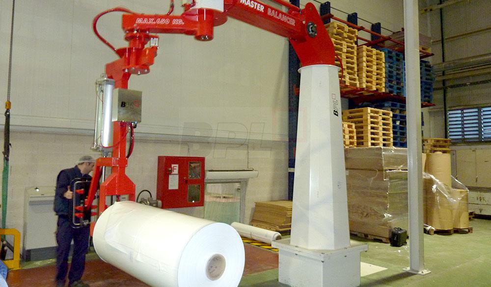 Rullhanteringsutrustning