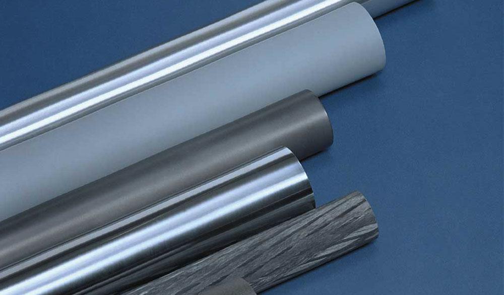 Aluminium-, stål- och kolfibervalsar